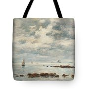 Low Tide Saint Vaast La Hougue Tote Bag