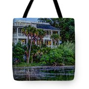 Lowcountry Home On The Wando River Tote Bag