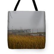 Lowcountry Marsh Fog Tote Bag