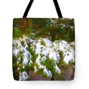 Lowcountry Snow Tote Bag