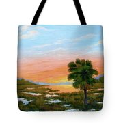 Lowcountry Sunrise Tote Bag