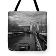Lowell Ma Architecture Bw Tote Bag