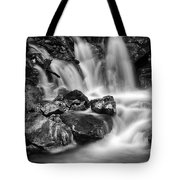 Lower Bridal Veil Falls 5 Bw Tote Bag