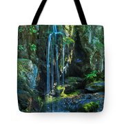 Lower Doyle River Falls Tote Bag