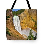 Lower Falls From Uncle Toms Trail Tote Bag