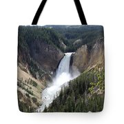 Lower Falls Yellowstone Tote Bag