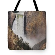 Lower Falls - Yellowstone Tote Bag