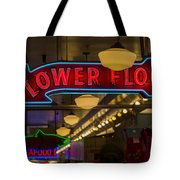 Lower Floor And Salmon Tote Bag