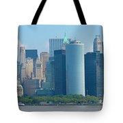 Lower Manhattan Tote Bag