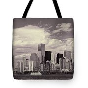 Lower Manhattan Skyline 2 Tote Bag
