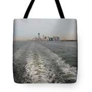 Lower New York Tote Bag