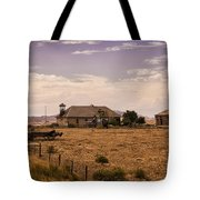 Lower Shell School House Tote Bag
