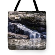 Lower Swallow Falls Stairsteps Tote Bag