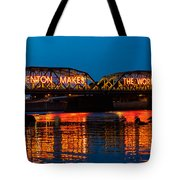 Lower Trenton Bridge Tote Bag