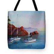 Lowered Sails Tote Bag