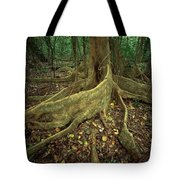 Lowland Tropical Rainforest Tote Bag
