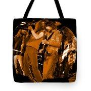 Ls Spo #68 Enhanced In Amber Fisheye Tote Bag