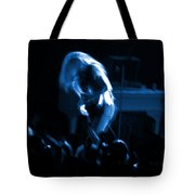 Ls Spo #79 Crop 2 In Blue Tote Bag