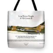 Ltv Ling Temco Vought A-7d Corsair II Tote Bag
