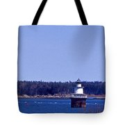Lubec Channel Lighthouse Tote Bag