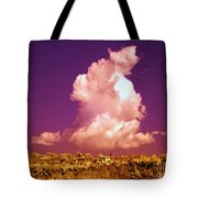 Lubriano, Italy, Infrared Photo Tote Bag