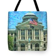 Lucas County Court House Tote Bag