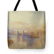 Lucerne From The Lake Tote Bag