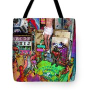 Lucha Toys Tote Bag