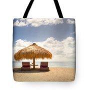 Lucian Beach Hut Tote Bag