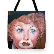 Lucille Ball Tote Bag by Tom Roderick