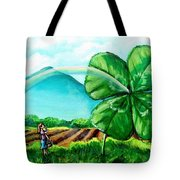 Luck Of The Dale Tote Bag