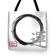 Luck - Zen Enso Tote Bag