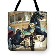 Lucky Black Pony - Syracuse Ptc No 18 Tote Bag