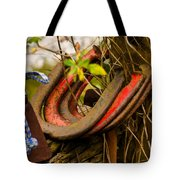 Lucky Horseshoes Tote Bag by Jordan Blackstone