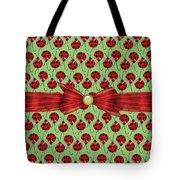 Lucky Ladybugs Tote Bag