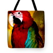 Lucky Look Bird Tote Bag