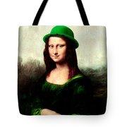 Lucky Mona Lisa Tote Bag