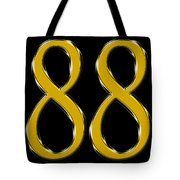 Lucky Number 8 Tote Bag