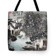 Lucky Snow  Tote Bag