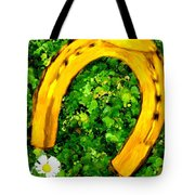 Lucky Wedding Horse Shoe Tote Bag