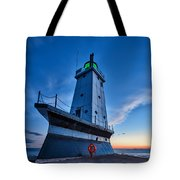 Ludington Lighthouse Tote Bag
