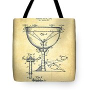 Ludwig Kettle Drum Drum Patent Drawing From 1941 - Vintage Tote Bag