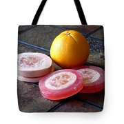 Luffa Red And Pink Soap Tote Bag