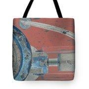 Lug Nut Wheel Left  Tote Bag