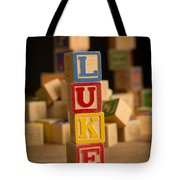 Luke - Alphabet Blocks Tote Bag