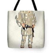 Luke Skywalker - Mark Hamill  Tote Bag by Ayse Deniz