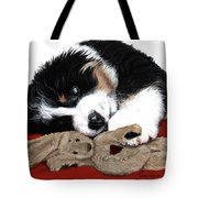 Lullaby Berner And Bunny Tote Bag