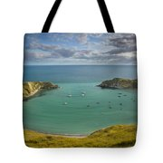 Lulworth Cove Evening Tote Bag