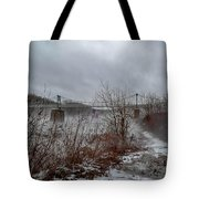 Lumberville Bridge Bucks County Tote Bag