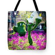 Lumiere And Chip Tote Bag
